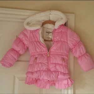 Adorable Oshkosh Winter WindBreaker Hooded Coat 4T